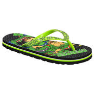 Teenage Mutant Ninja Turtles Boy's Teenage Mutant Ninja Turtle Flip Flop - Green at Kmart.com
