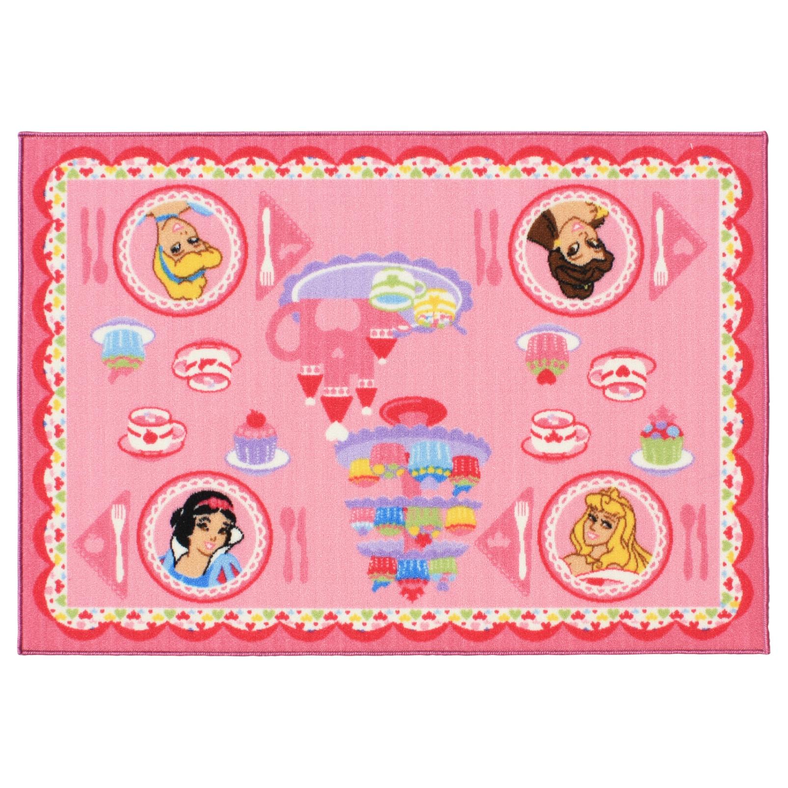 Disney Princess Tea Party Interactive Game Rug