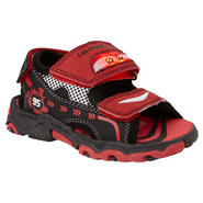 Disney Toddler Boy's Lighted Cars Sandal - Red at Kmart.com