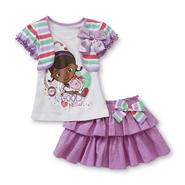 Disney Baby Girl's Top & Scooter Skirt - Doc McStuffins at Kmart.com