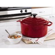Sandra by Sandra Lee Red Cast Iron Dutch Oven at Kmart.com