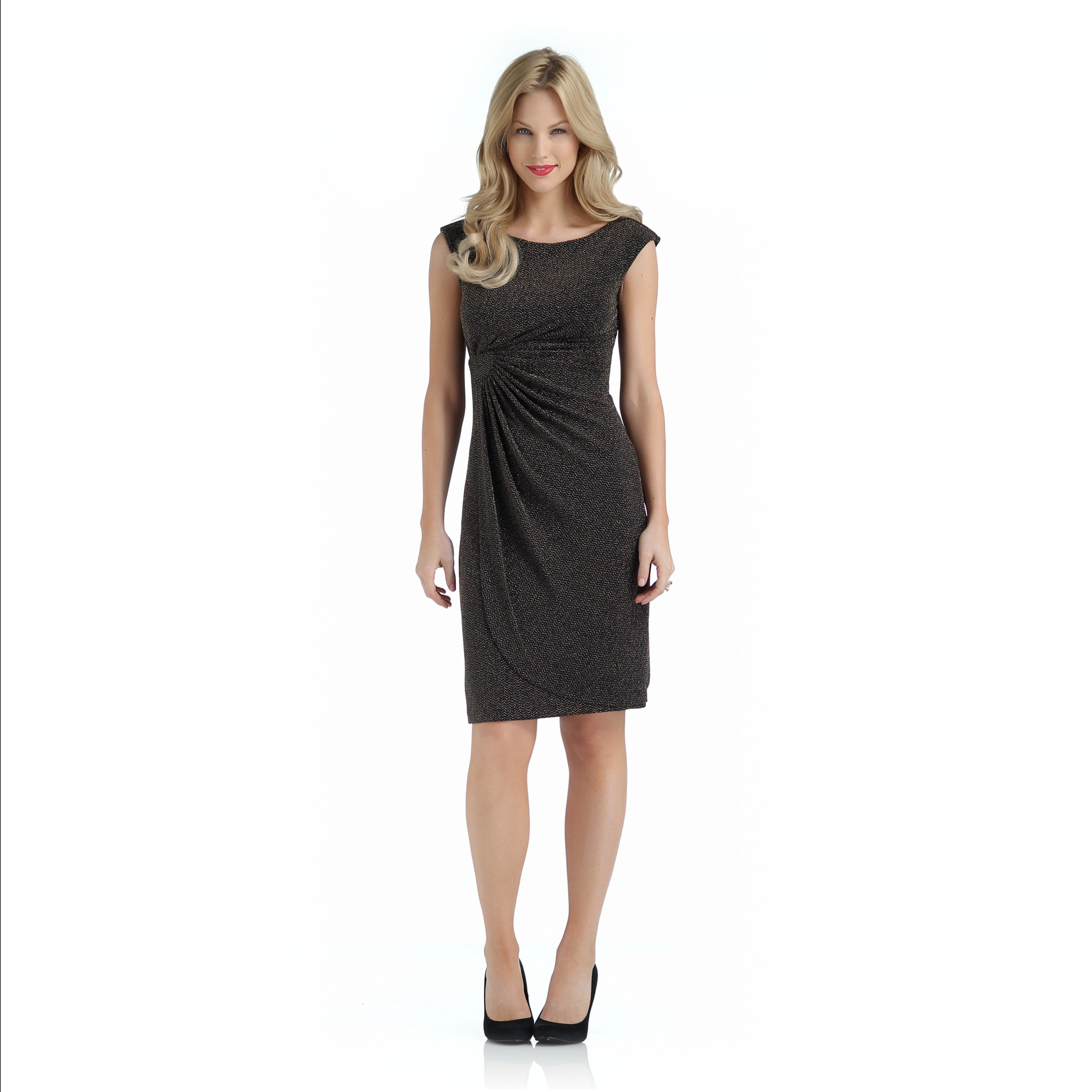 Connected Apparel Women's Evening Dress - Chevron at Sears.com