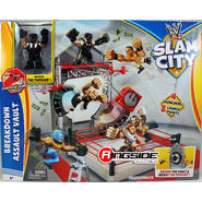 WWE Breakdown Assault Vault - WWE Slam City Toy Wrestling Action Figure Ring Playset at Kmart.com