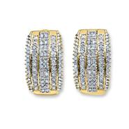 Gold Plated 1.00 cttw Diamond Earrings at Sears.com