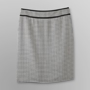 Covington Women's Woven Pencil Skirt - Plaid at Sears.com