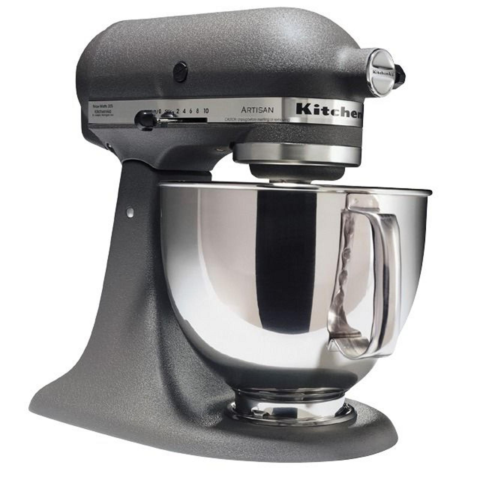kitchenaid ksm150psgr artisan series imperial gray 5 quart stand mixer. Black Bedroom Furniture Sets. Home Design Ideas