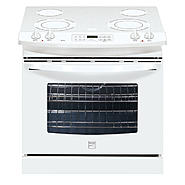 "Kenmore 30"" Self-Clean Drop-In Electric Range - White at Kmart.com"