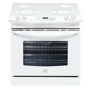 "Kenmore 30"" Self-Clean Drop-In Electric Range - White at Kenmore.com"