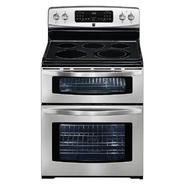 Kenmore 6.6 cu. ft. Double-Oven Electric Range w/ Convection - Stainless Steel at Kenmore.com