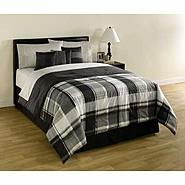 Cannon Black Plaid Comforter at Kmart.com
