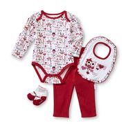 Vitamins Baby Newborn Girl's Valentine's Bodysuit & Leggings Set - Owl at Sears.com
