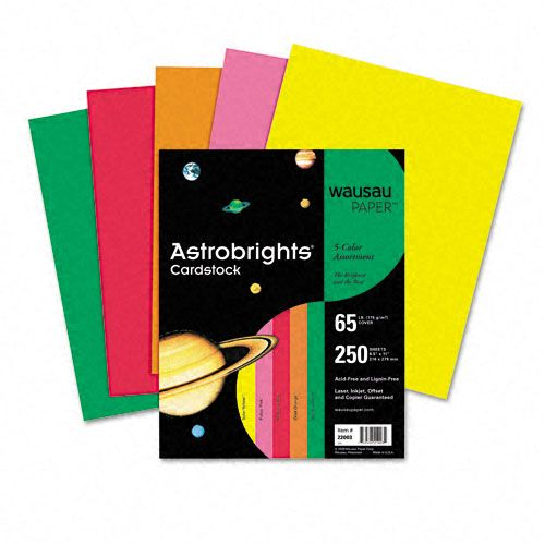 Astrobrights Assorted Colored Cover Stock