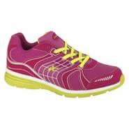 Athletech Women's Athletic Shoe L-Willow2 - Cranberry/Lime at Kmart.com