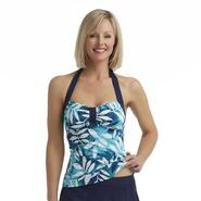 Jaclyn Smith Women's Tankini Swimsuit Top - Leaf Print at Sears.com