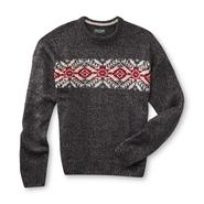 DAVID TAYLOR Men's Crew Neck Sweater - Snowflake Pattern at Kmart.com