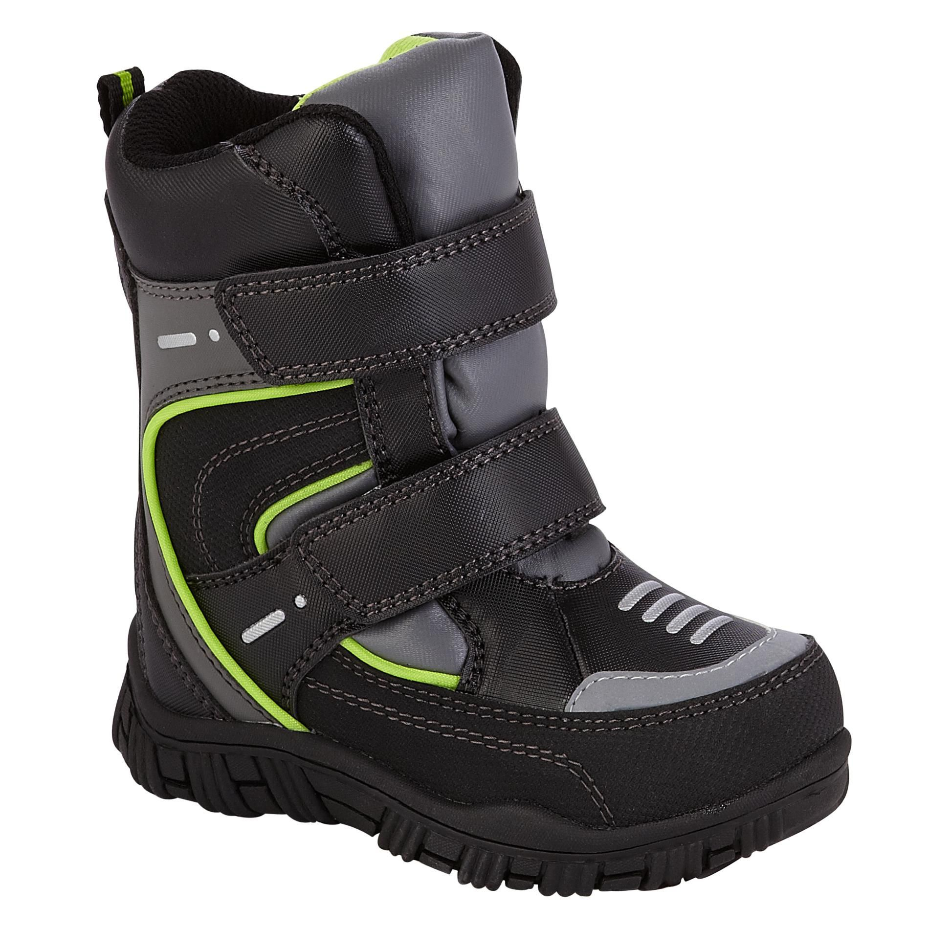 Athletech Toddler Boy's Abraham 2 Winter Boot - Black