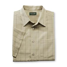 David Taylor Collection Men's Short-Sleeve Dress Shirt - Check at Kmart.com