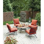 Grand Resort Keaton 5 Piece Chat Set with Granite at Sears.com