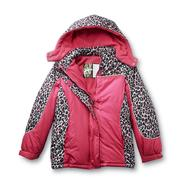 Athletech Girl's Winter Jacket - Leopard at Kmart.com