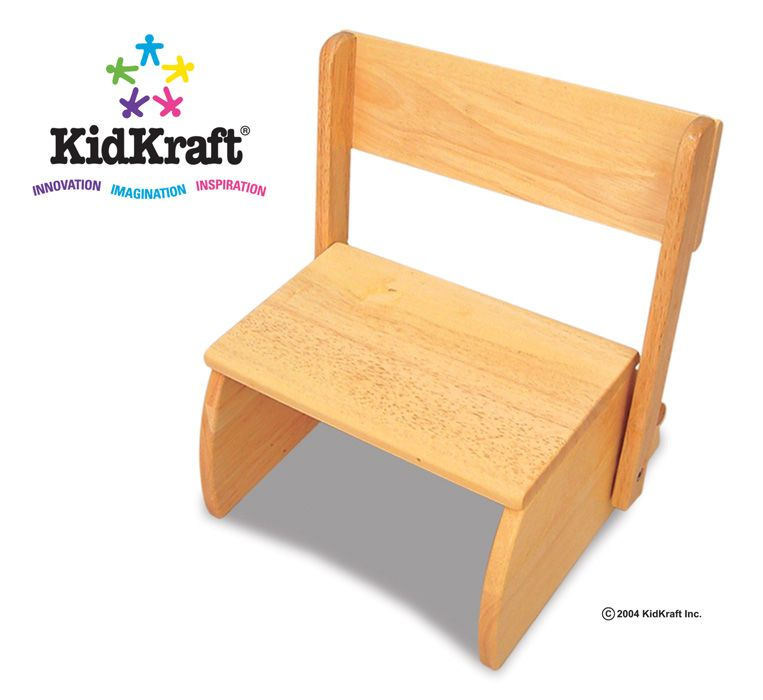 Kidkraft  Large Flip Stool - Natural