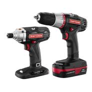 Craftsman C3 2-Piece Lithium-Ion Drill and Impact Driver Kit at Sears.com
