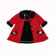 Holiday Editions Newborn Girl's Coat Dress - Scottie Dog at Kmart.com