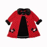 Holiday Editions Infant & Toddler Girl's Coat Dress - Scottie Dog at Kmart.com