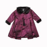 Holiday Editions Infant & Toddler Girl's Dress Coat - Metallic at Kmart.com