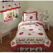 My World Ladybug Yard Quilted Girls Bedding at Kmart.com