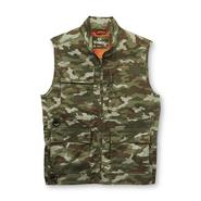 Outdoor Life Men's Big & Tall Lightweight Vest - Camo at Sears.com