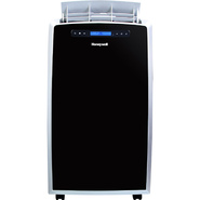 Honeywell 14,000 BTU Portable Air Conditioner with 12,000 BTU Heat Pump - Black/Silver at Sears.com