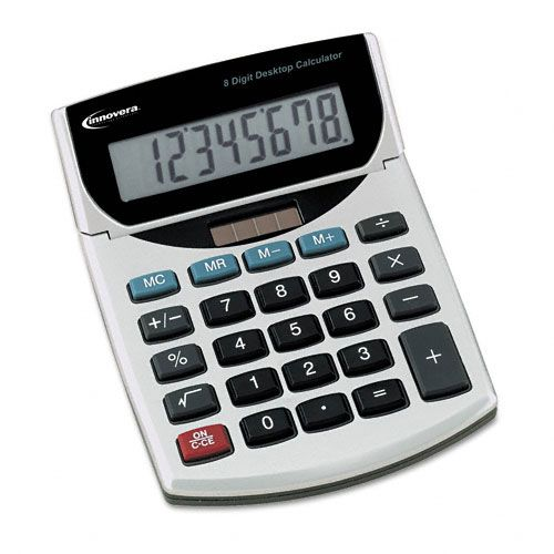Innovera 15925 Handheld Calculator, Eight-Digit LCD