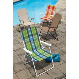 Essential Garden Waffle Chair Green Outdoor Living