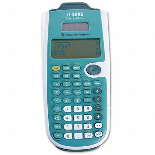 TI-30XS Scientific Calculator, 16-Digit LCD