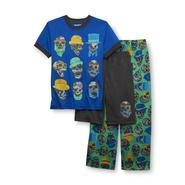Joe Boxer Boy's Pajama Shirt, Pants & Shorts - Skulls at Sears.com
