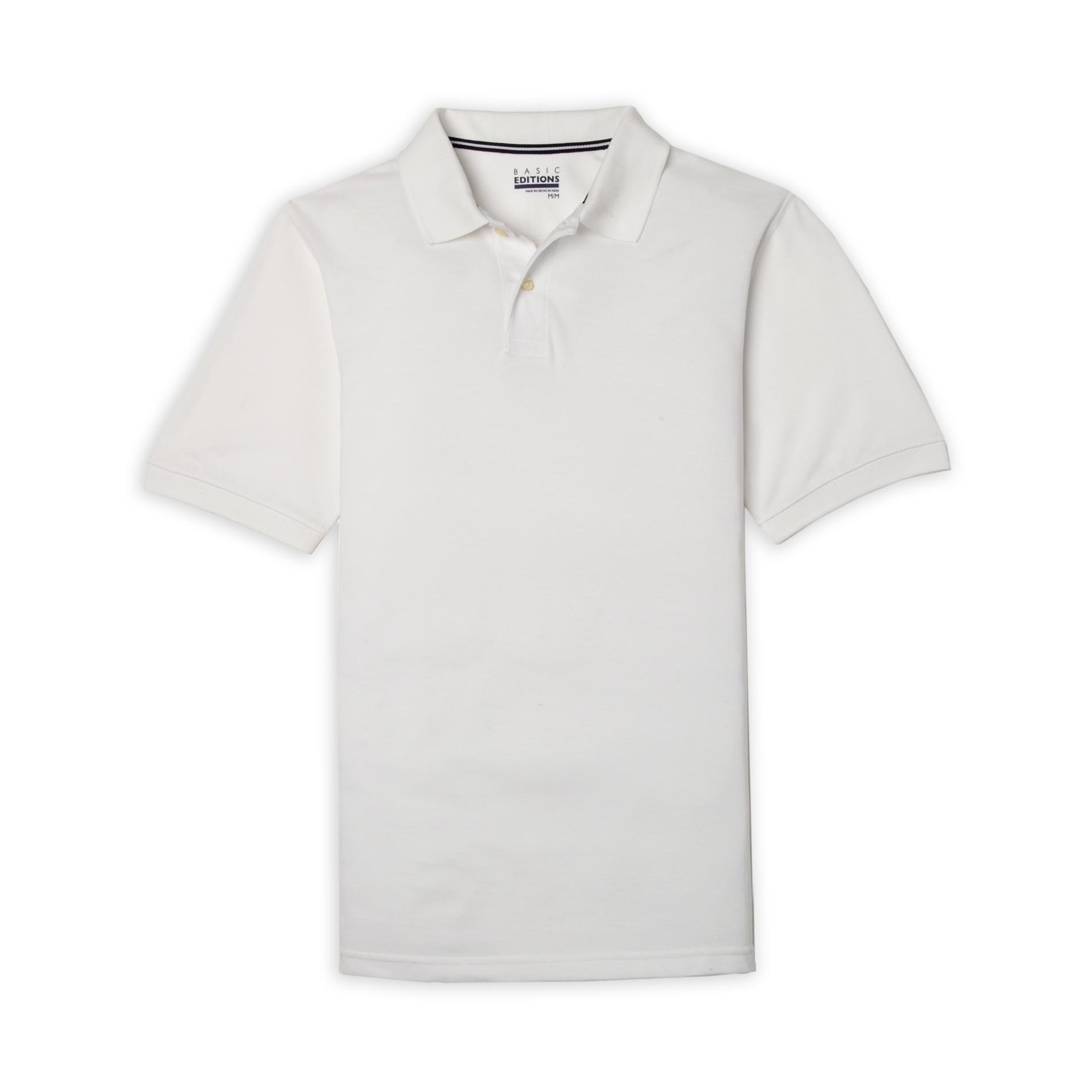 Basic Editions Men's Big & Tall Polo Shirt at Kmart.com