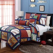 Cali Collection All Star 5PC Quilt at Kmart.com
