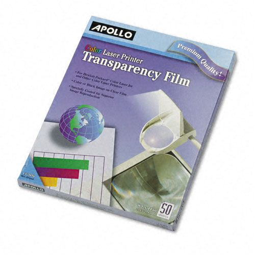 Apollo Color Laser Printer/Copier Transparency Film