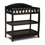 Delta Childrens Black Changing Table with Pad at Kmart.com