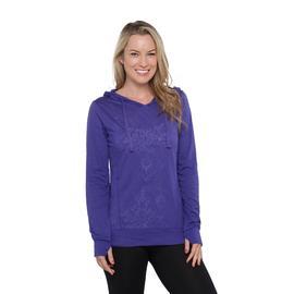 Everlast® Women's Burnout Hooded Shirt at Sears.com