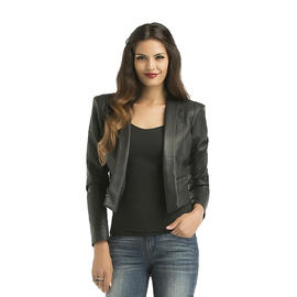Kardashian Kollection Women's Faux Leather Blazer at Sears.com