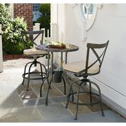 Essential Garden Burton 3PC Endurowood Tall Bistro with Integrated Ice Bucket at Kmart.com