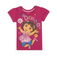 Nickelodeon Dora The Explorer Girl's Graphic T-Shirt at Sears.com