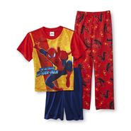 Marvel Boy's Pajama Shirt, Pants & Shorts - Spiderman at Sears.com