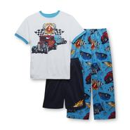 Joe Boxer Boy's 3-Piece Pajama Set - Hot Rod at Sears.com