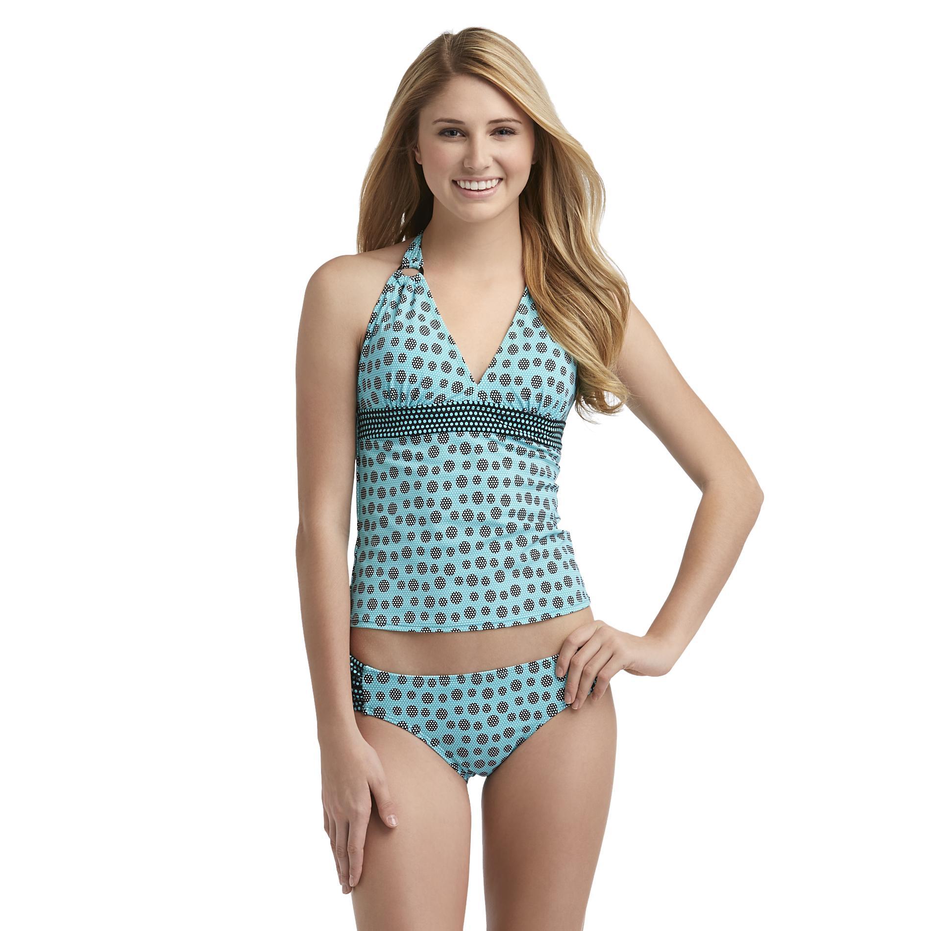 Joe Boxer Women's Halter Tankini Swim Collection - Polka Dot at Kmart.com