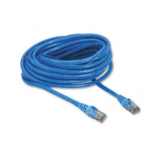 High Performance Cat6 UTP Patch Cable, 25ft, Blue
