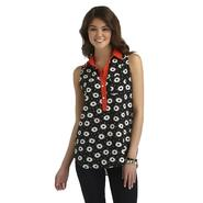Heart Soul Junior's Sleeveless Blouse - Floral at Sears.com