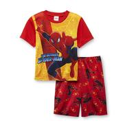 Marvel Spider-Man Boy's T-Shirt & Shorts Pajama Set at Kmart.com