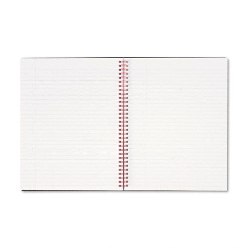 Black n' Red Polypropylene Twinwire Notebook, Letter, 70 Sheets